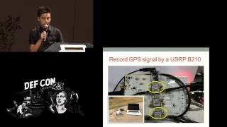 DEF CON 23 - Lin Huang and Qing Yang - Low cost GPS simulator: GPS spoofing by SDR
