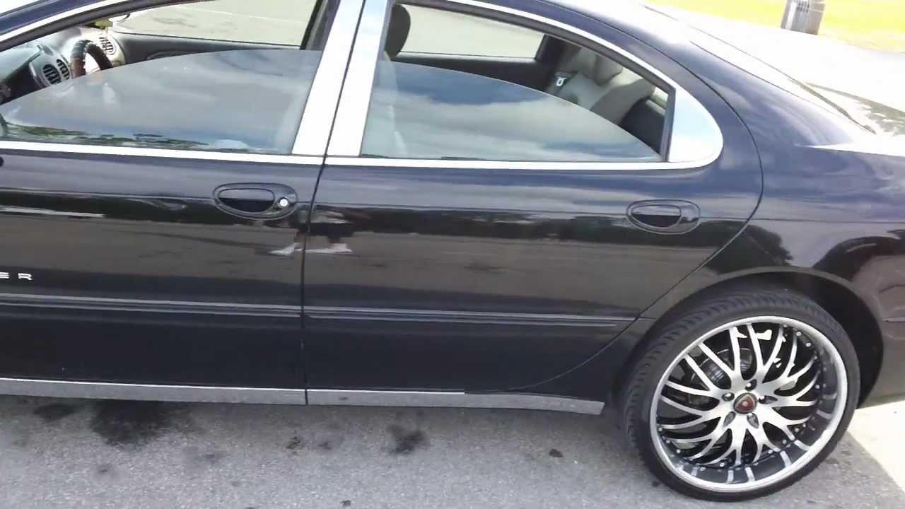 "My Chrysler 300m 22"" rims Update.. - YouTube"