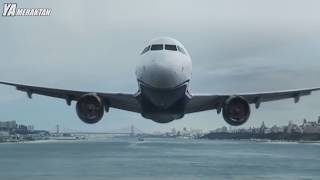 Kameraların Kaydettiği En İnanılmaz 8 Uçak İnişi