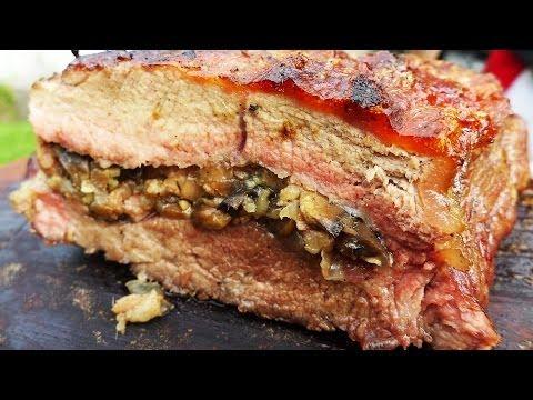 Bife de Chorizo Relleno - Receta Espectacular! Locos X el Asado