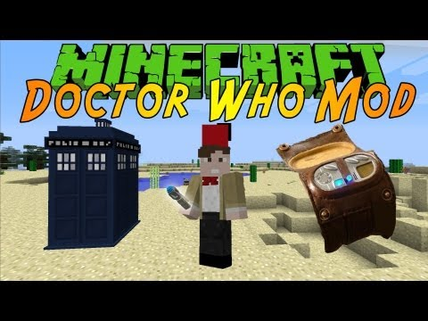 [MINECRAFT] Dalek Mod 1.6.2   TARDIS. TIME VORTEX MANIPULATOR AND MORE!