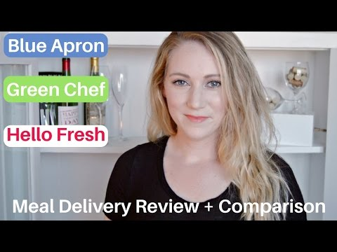 Blue Apron + Green Chef + Hello Fresh | Which is Best? | Meal Delivery Review