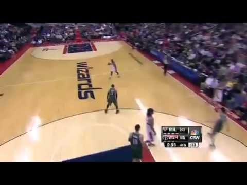 Washington Wizards-Milwaukee Bucks 106-93 13.03.13 Game Recap