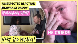 PREGNANT AGAIN AFTER 5 KIDS PRANK TO HUSBAND (HE CRIED!!)