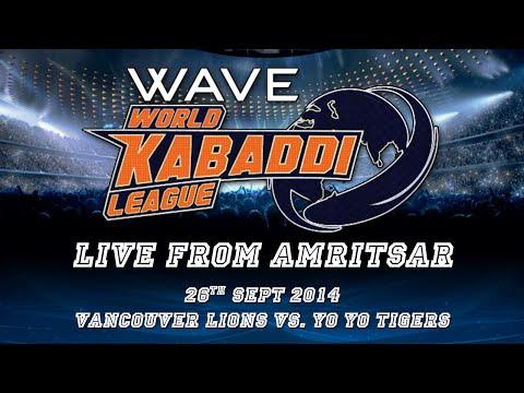 World Kabaddi League, Day 17: Vancouver Lions Vs. Yo Yo Tigers