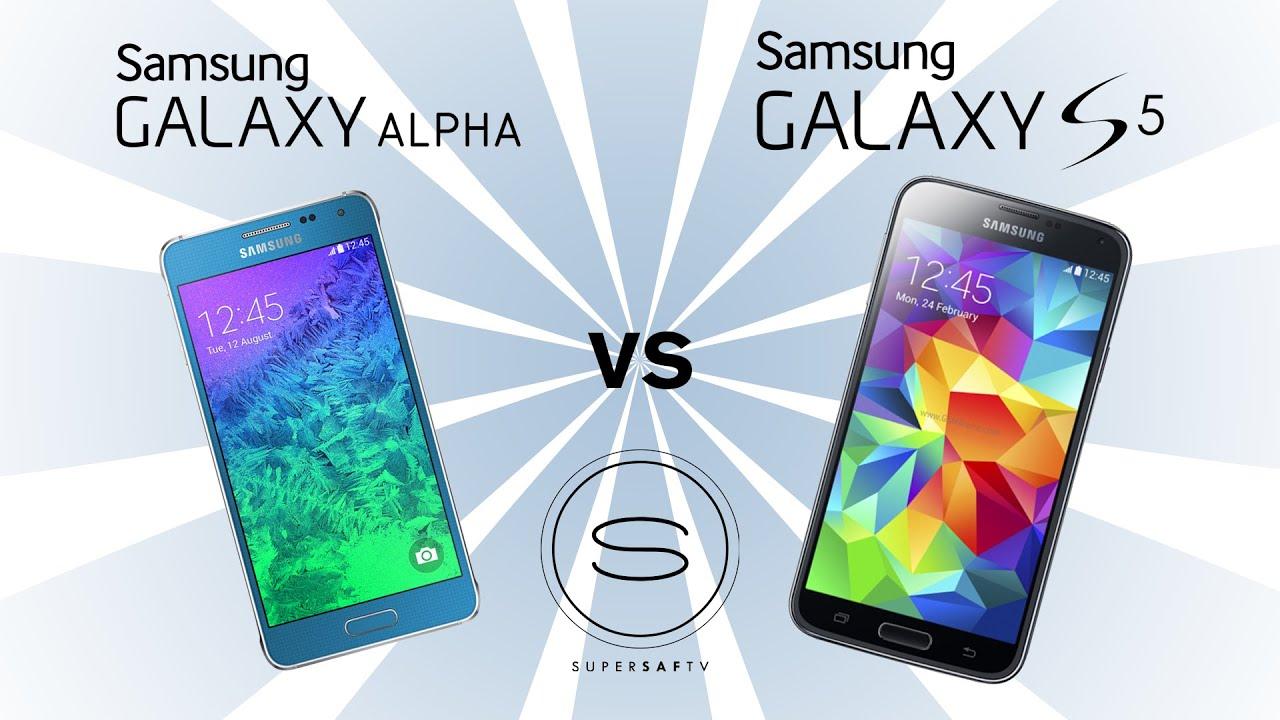 samsung galaxy alpha vs samsung galaxy s5   youtube