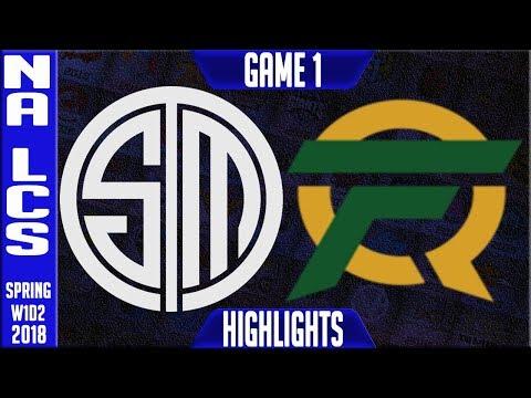 TSM vs FLY Highlights | NA LCS Spring 2018 S8 W1D2 | Team Solomid vs FlyQuest Highlights