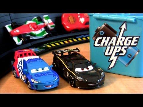 Cars 2 Charge UPS Lewis Hamilton X Raoul Caroule Disney
