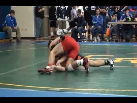 Zach Wilson 2012-2013 Bluffton High School, Ohio Wrestling Highlights