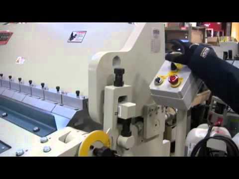 Baileigh BB-9610H Hydraulic Box and Pan Brake 10 Gauge Sheet Metal Machine