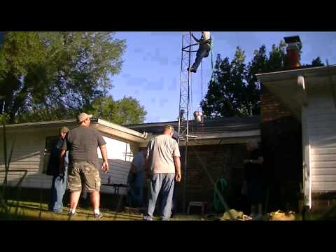 Antenna Work Day at the Fill Residence #4