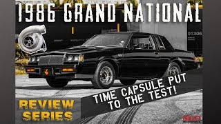 1986 Buick Grand National Booostin'  [4k] | REVIEW SERIES