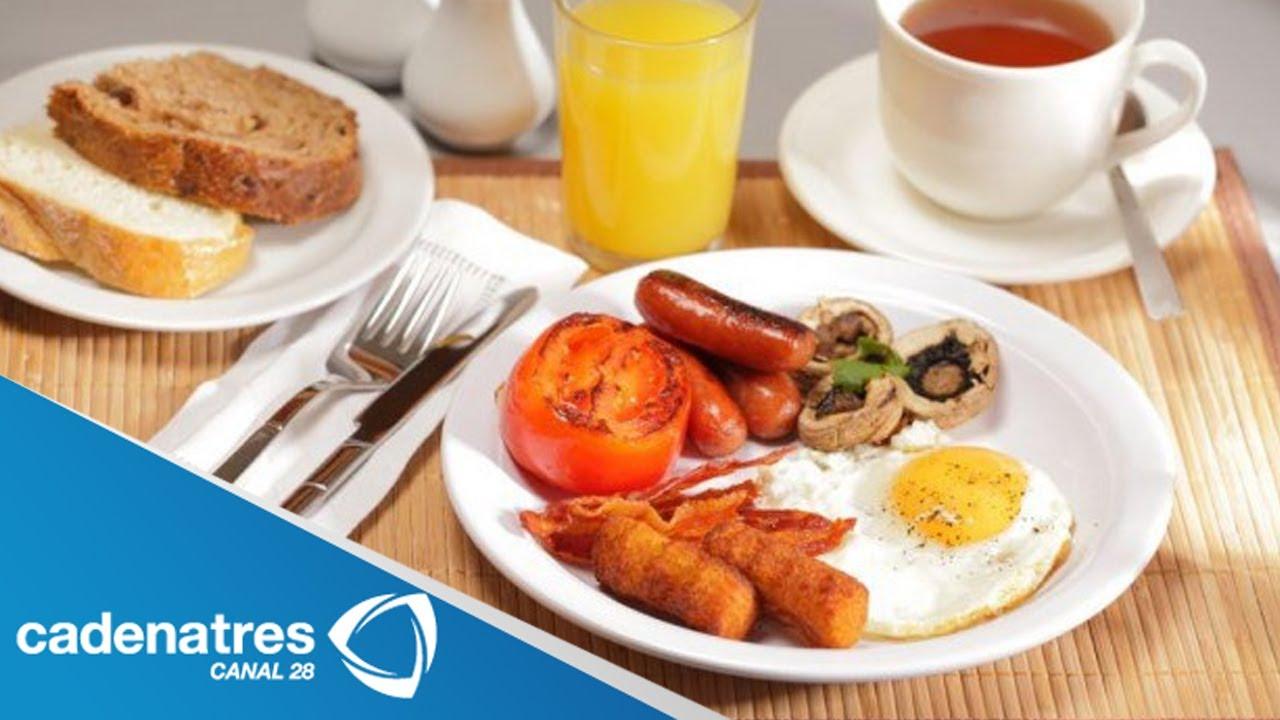 Receta de desayuno estilo ingl s desayunos f ciles y - Platos rapidos y sencillos ...