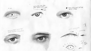 Drawing Tips to Draw Real Hair and Eyes