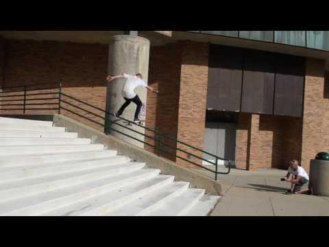 Woody Woelfel handrail 50-50 hard slam