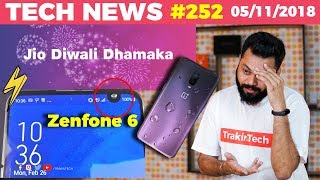 Realme Phone Prices, Mi Notebook Launch, Jio Diwali Dhamaka, Asus Zenfone 6, Intex TV-TTN#252