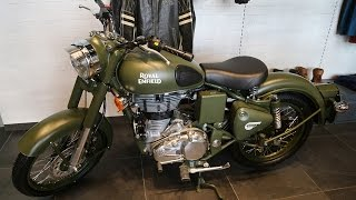 Royal Enfield Opens a Showroom in Dubai