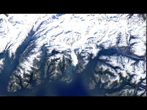 Google Timelapse: Columbia Glacier, Alaska