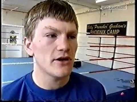 Ricky Hatton Training For Vince Phillips