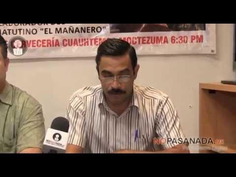 Viene Pedro Tello a Navojoa, participa en 'El Mañanero'