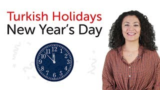 Learn Turkish Holidays - New Year