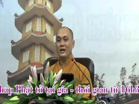 Phật Tử Tại Gia 20: Giới Không Sát Sanh (phần 1)