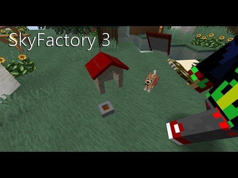 Minecraft SkyFactory 3 ||| Folge: 43: Ginoplay hat den schönsten Garten!