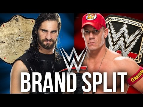 WWE BREAKING NEWS: BRAND SPLIT RETURNING 2016