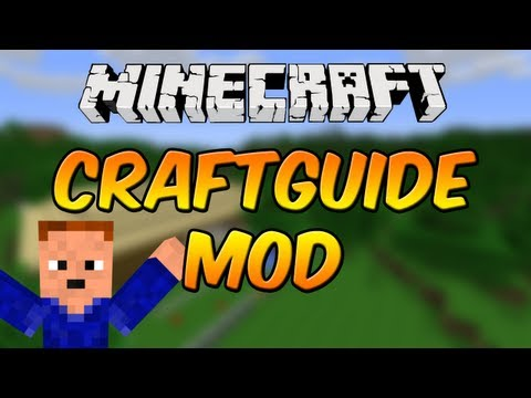  Mod Spotlight w/ SuperMinepod! - CraftGuide Mod! (1.5.1)