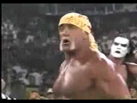 return of hulkamania,hogan sting goldberg v sid steiner nash