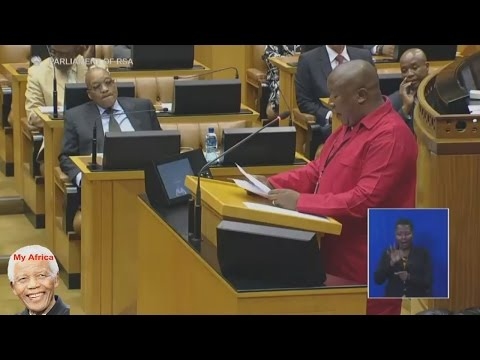 Julius Malema Insulting Jacob Zuma