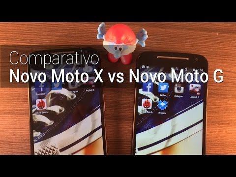 Comparativo: Moto X (2014) vs Moto G (2014)   Tudocelular.com
