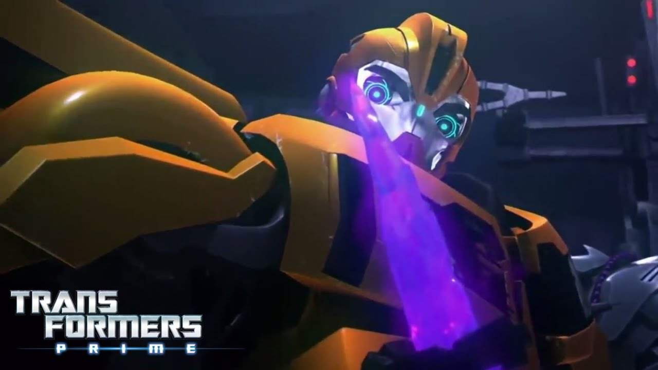 Transformers Prime:- Season 1 Episode 14 [Part-3/3] In Hindi.TFP Bumblebee alives the Lord Megatron