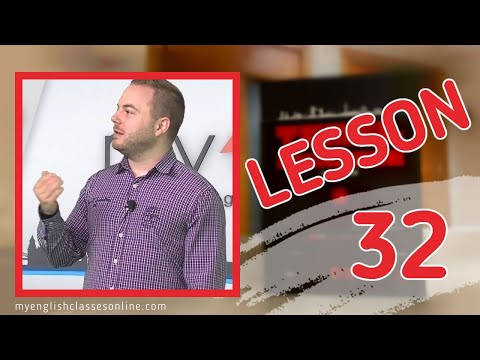 Lesson 32: Simple Past Tense with Regular Verbs