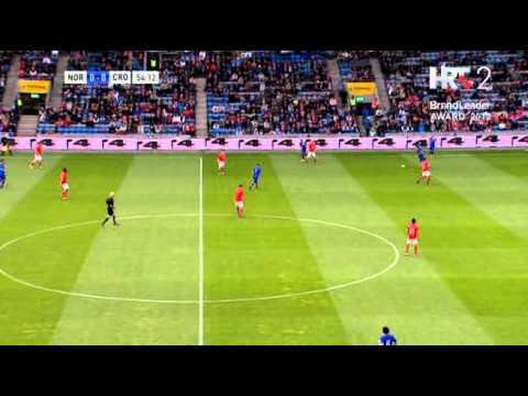 međunarodna prijateljska utakmica norveška - hrvatska 02.06.2012 ...