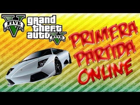 Game | GTA 5 Mi primera partida en Grand Theft Auto V Online | GTA 5 Mi primera partida en Grand Theft Auto V Online