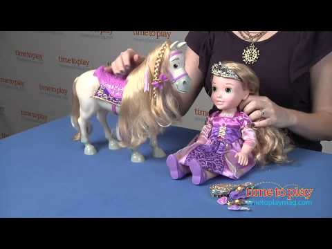 My First Disney Princess Toddler Rapunzel and Maximus from Tollytots