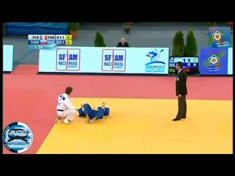 European Judo Championship Budapest 2013 Bronze -81kg PIETRI Loic (FRA) - VOROBEV Ivan (RUS)