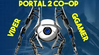Two Idiots Play Portal 2 Co-op