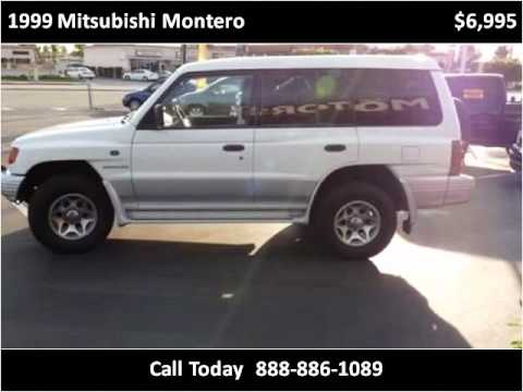 1999 Mitsubishi Montero available from OC Imperial Motors