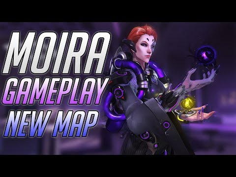 ГЕЙМПЛЕЙ ■ НОВЫЙ ГЕРОЙ ОВЕРВОТЧ МОЙРА ■ Moira Overwatch Gameplay ■ Новая Карта Овервотч