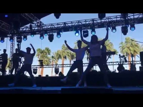 """Christine and the Queens """"Tilted"""" Coachella 2016"""