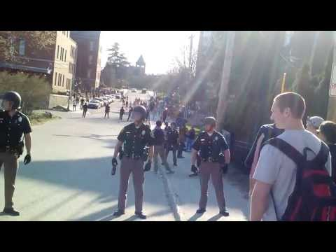 UNH Riot Squad 4/27/13 Up Close And Personal
