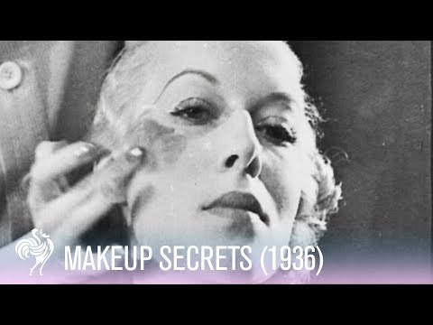 Vintage Make Up Tutorial (1936)