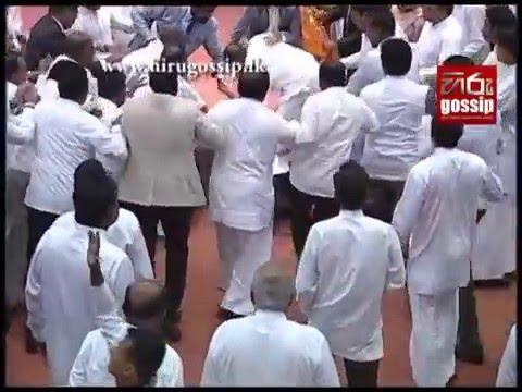 Parliament Sri Lanka Fight