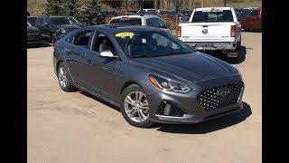 2018 Hyundai Sonata Sport | Proximity Key Fob + Power Sunroof | Edmonton | MA11673 | Crosstown DCJR