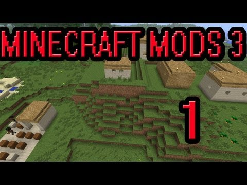 Minecraft Mods 3 Cap.1 Me gusta este mapa!