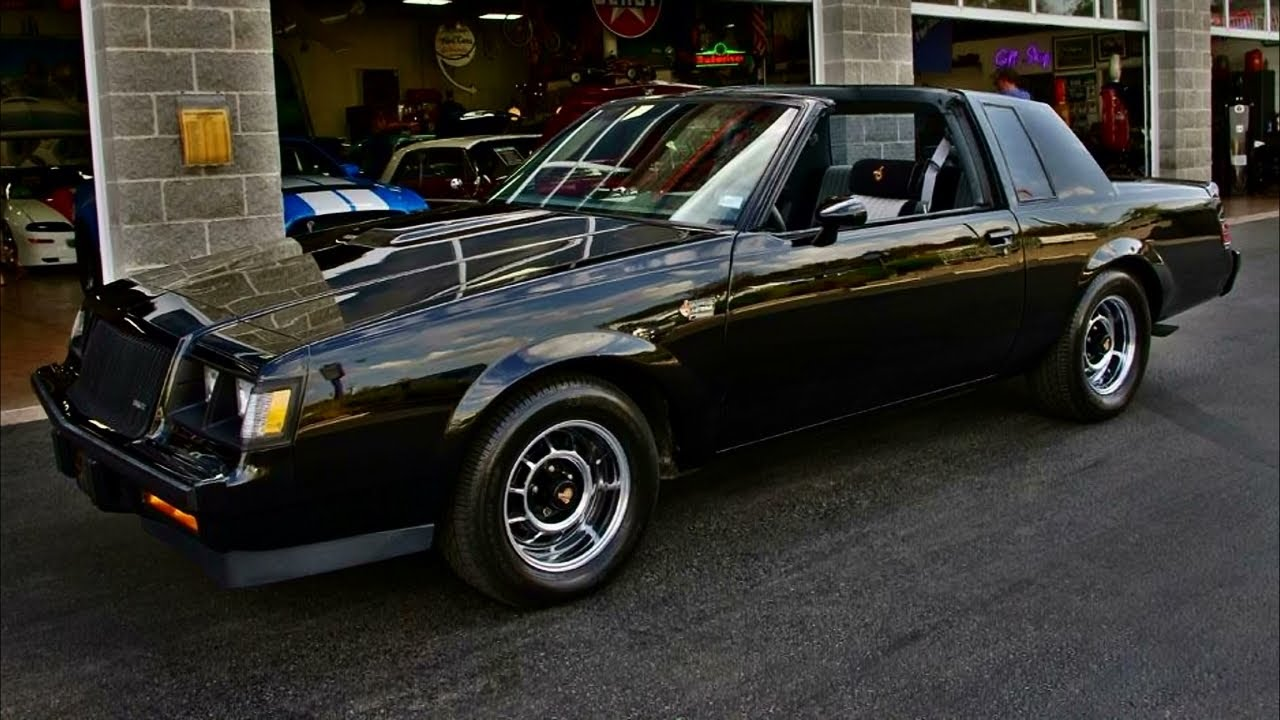 1987 Buick Grand National 3 8 Turbo V6 53xxx Miles