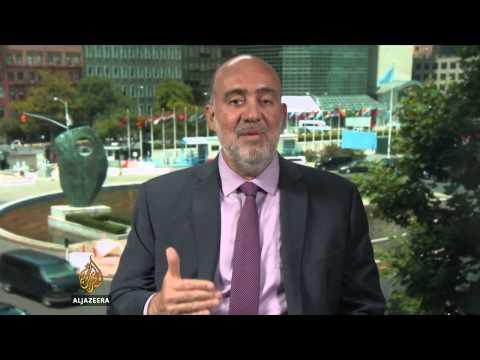 Israeli ambassador to UN defends air offensive against Gaza