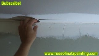 Fixing a Bad Tape Job - (Part 1) Drywall Repair & Wall Preparation